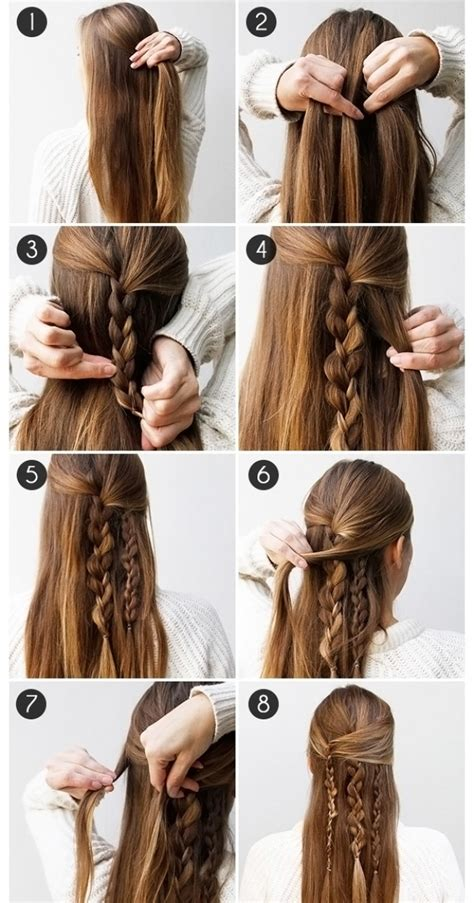 Easy Hairstyles For School In 5 Minutes by 10 Easy Hairstyles In 5 Minutes