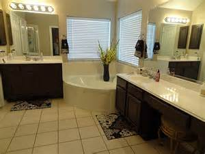 Bathroom Vanity With Makeup Area » Modern Home Design