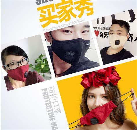 Masker Untuk Berkendara masker filter anti polusi pria black jakartanotebook