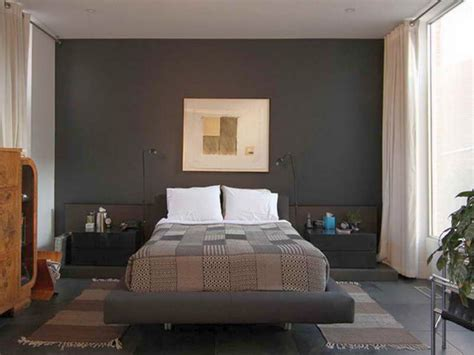 monochrome relaxing paint colors for bedrooms