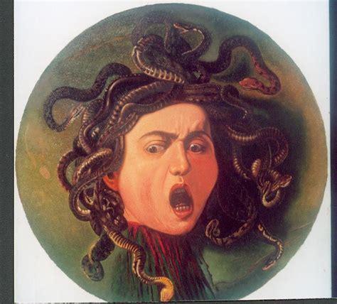 testa di medusa caravaggio testa di medusa di caravaggio copia olio su tela cm 60x60