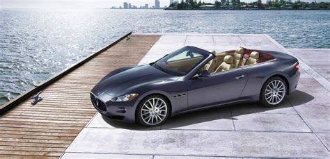 maserati drop top maserati drops the top on grancabrio