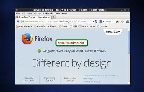 How To Install Mozilla Firefox In Fedora 8 Release ... Install Firefox Windows 7