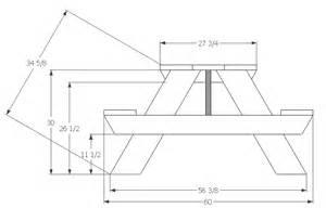 Free picnic table plans 8 foot small woodworking plans
