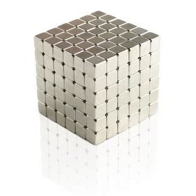Buckycubes Magnetic Block Toys 216pcs 4mm Mainan Magnet Silver zoyo magnetic thinking putty lilin plastisin mainan