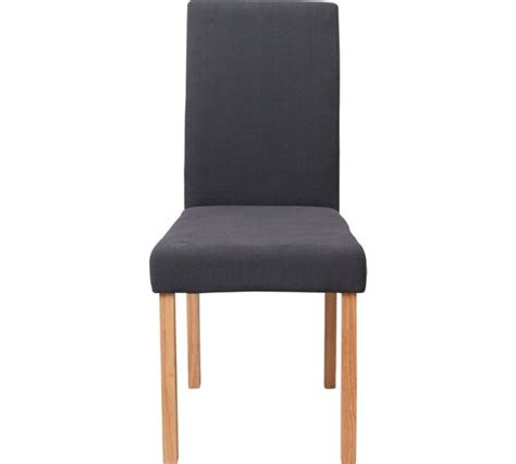 Skirted Fabric Dining Room Chairs Buy Of House Pair Of Charcoal Fabric Skirted Dining