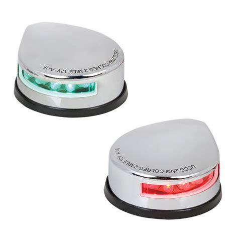boat navigation lights battery west marine deck mount led navigation lights west marine