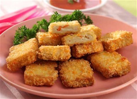 buat nugget ayam sayur resep tahu nugget tahu