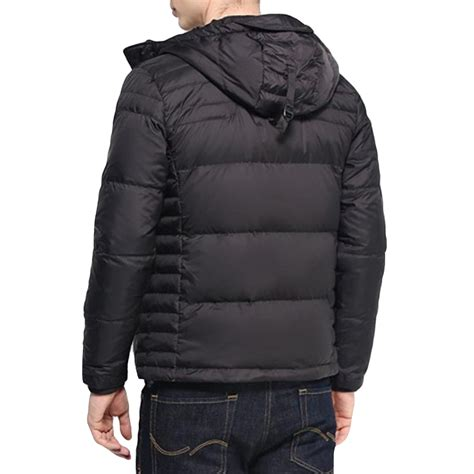 Quilted Padded Coat by Mens Quilted Padded Winter Warm Hooded Jacket