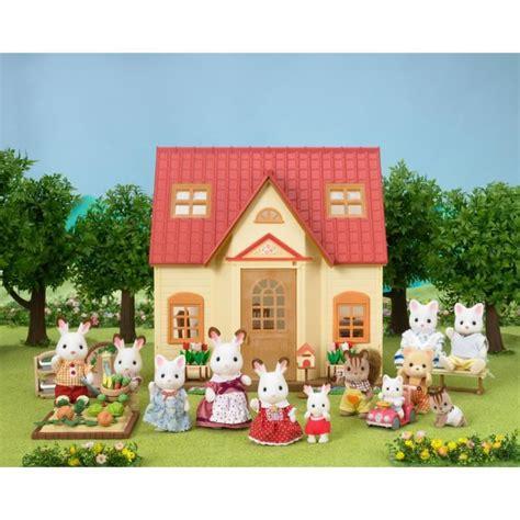 sylvanian families cottage sylvanian families 5242 set cosy cottage achat vente