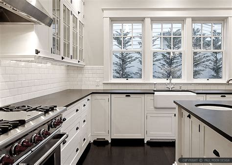 white subway backsplash black countertop backsplash ideas backsplash