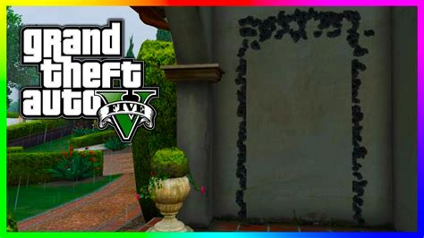 Make A Floor Plan For Free Online gta 5 hidden mystery door located outside michael s house