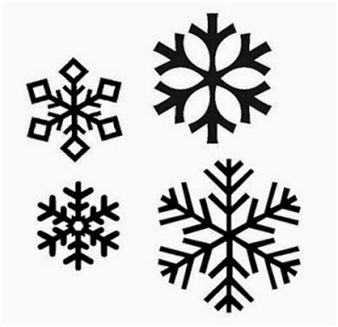 Home Decorations Collections by Snowflake Crafts For Kids And Free Printable Cut Outs