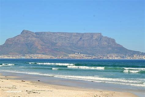 Table Mountain View Picture Of Bloubergstrand