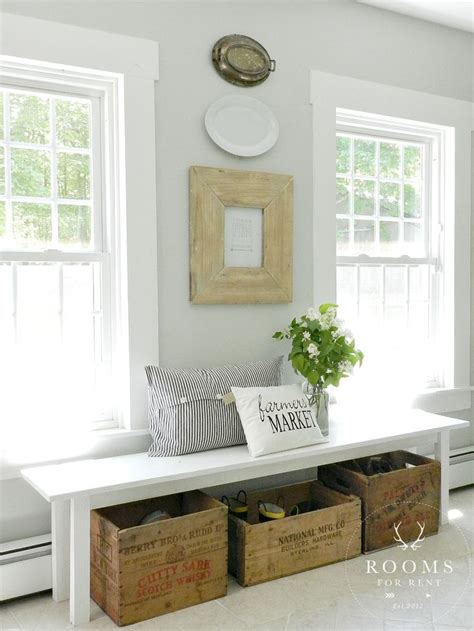 entryway wall decor picture of cozy and simple farmhouse entryway decor ideas 11