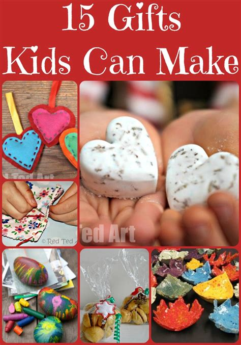 christmas gift ideas for kids to make red ted art s blog