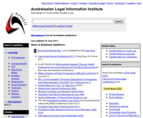Austlii Search Austlii Edu Au Australasian Information Institute Austlii