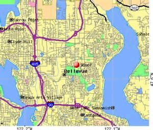Bellevue Washington Map by Bellevue Washington Map