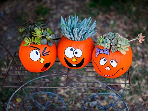 unique halloween pumpkin decorating ideas diy