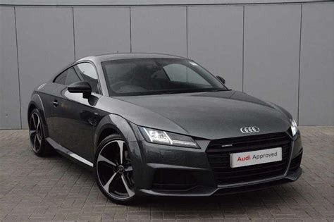 Used Audi Tt Coupe by Used 2017 Audi Tt Special Editions 2 0 Tdi Quattro Black