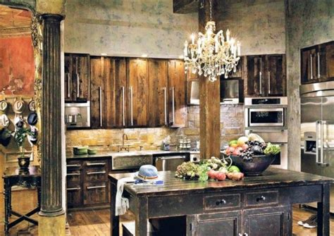 Large Kitchens With Islands by 10 Astuces Pour Cr 233 Er Une Cuisine Rustique