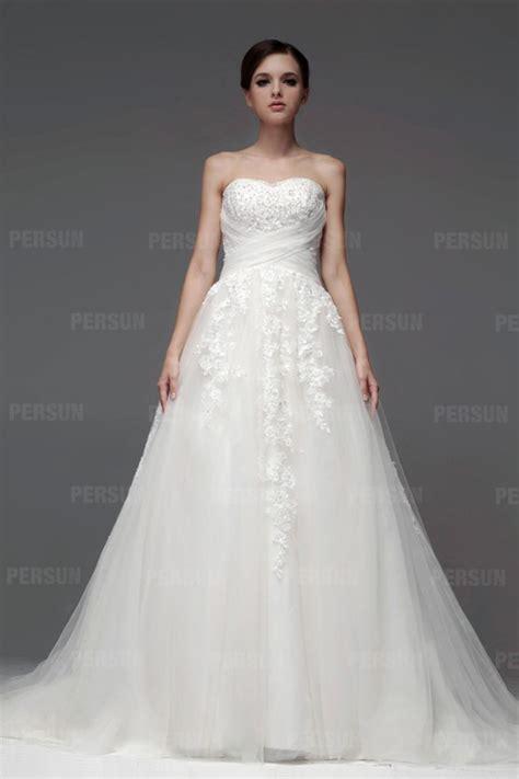 hochzeitskleid empire rughe incrociate pizzi senza spallini vestito da sposa in