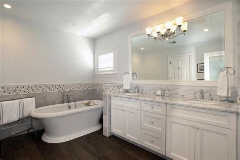 Lighting In Bathrooms Ideas Airy Traditional Bathroom By Alena Capra