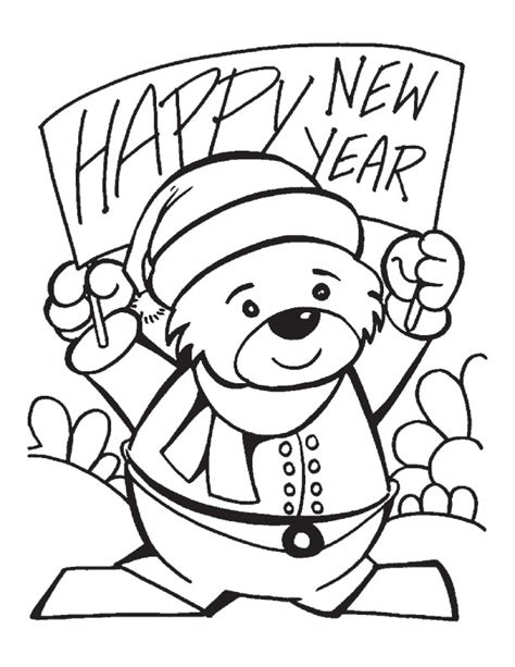christian coloring pages for new years new year banner coloring pages download free new year