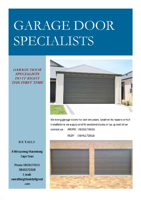 Garage Door Specialists by Garage Door Specialists Cape Town Co Za