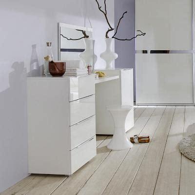 schlafzimmer set mit kommode top schminktisch set 4 tlg schlafzimmer hochglanz