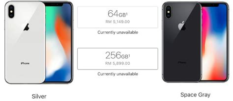 apple x malaysia apple iphone x malaysia price officially announced from