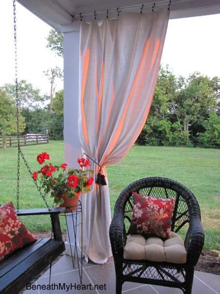 Make Your Own Outdoor Curtain Panels Outdoor Panels For Patio