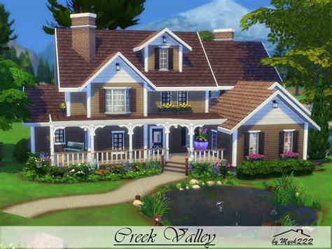 sims house ideas mychqqq s creek valley