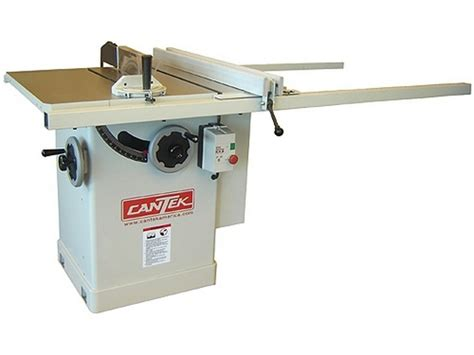 cantek 10 quot tilt arbor table saw hermance