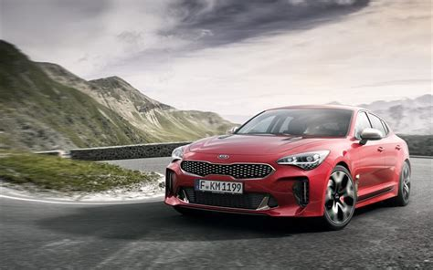 kia supercar wallpapers kia stinger gt 2018 cars movoment