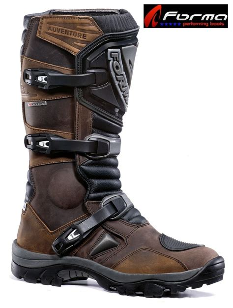 kids motorbike boots forma adventure mens womens kids off road motorcycle boots