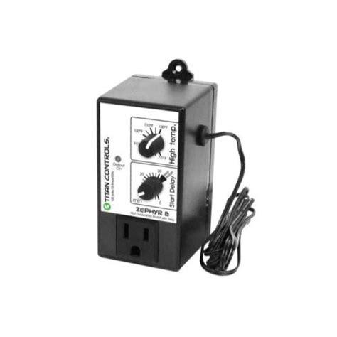 titan controls zephyr 2 high temperature shut with
