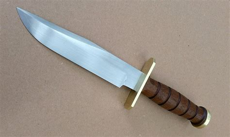 Knife And conflict forge bowie knife recoil offgrid