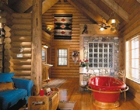 28 modern log cabin decorating ideas modern log