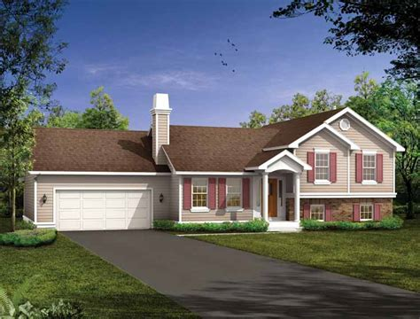 Split Level House Plans at eplans.com   House Design Plans