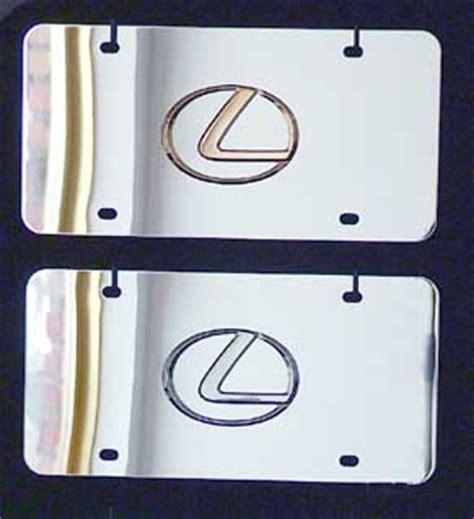 Lexus Vanity Plate by Lexus License Plates Vanity Logo Tags