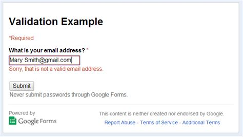 email format validation online google spreadsheets hints and tips checking that email