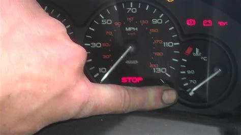 peugeot 306 stop warning light citro 235 n belingo 2009 model reset the service light