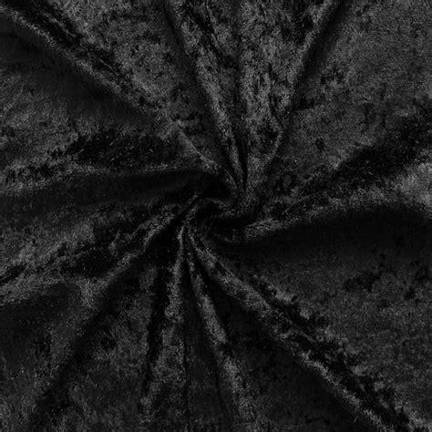 Black Velvet Upholstery Fabric by Black Crushed Velvet Fabric 161