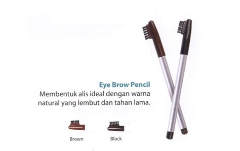 Wardah Eye Brow Pencil Black wardah eyebrow pencil black