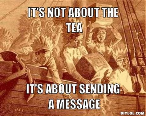 Tea Party Memes - how americans make their tea random kh13 com forum