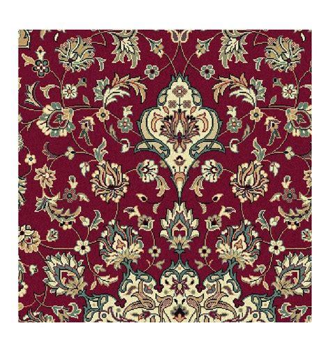 tappeto classico tappeto classico isfahan classico medaglione rosso 12217