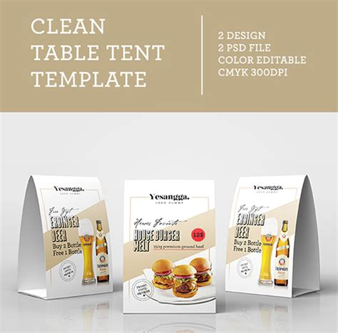 tent card template psd free 20 best free table tent psd mockups omega updates