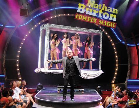 show in las vegas nathan burton magic show v theater box office