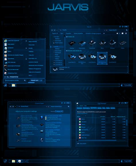 jarvis theme for windows 8 1 free download jarvis proper theme for windows 8 1 windows10 themes i